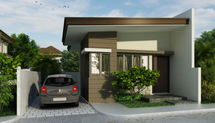 Clarissa U2013 Small House Design With Appeal | Floor Area: 33 Sq.m. | 1 Beds |  1 Baths