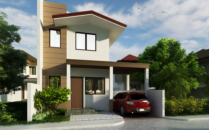 Tiny Home Designs: Small Two Storey House PHD-2015009
