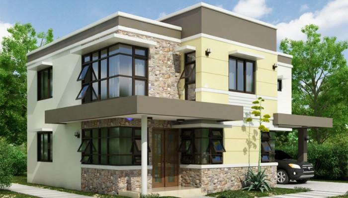 Blanca European Details Splash Glamour To This Modern House Design