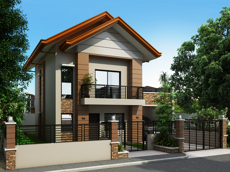 Two story house plans for small lots philippines escortsea for Small 2 storey house plans