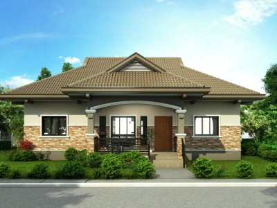 Attractive One Story House Designs Archives   Pinoy House DesignsArchivePinoy House  Designs