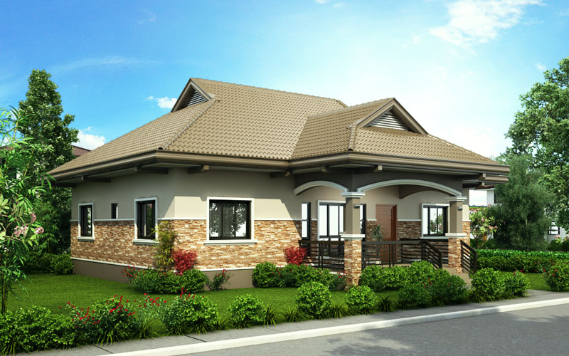 One storey house design 2015002 pinoy house designs for One storey modern house plans