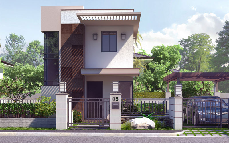 pinoy house design 2015012 view1 - 24+ 2 Story Small Modern House Designs In The Philippines Gif