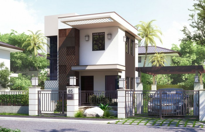 Pinoy 2 storey house plan joy studio design gallery for Small two story home designs