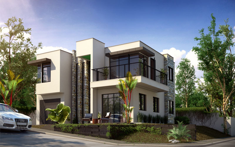 Corner lot house plans philippines House design plans