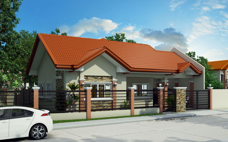 pinoy house design 2015016-left-view