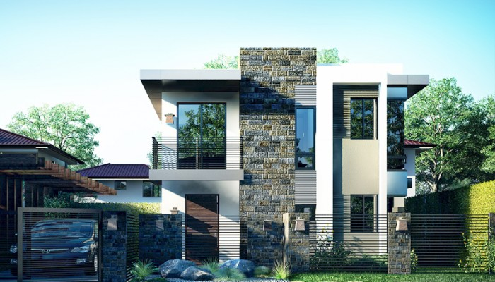 Modern house architectural designs pictures