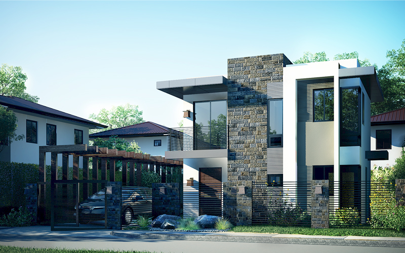 Modern House Design Phd 2015018 Pinoy House Designs