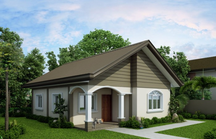 Carmela simple but still functional small house design for Functional house plans