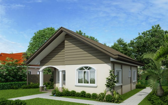 pinoy house design PHD-2015021- right-side-view