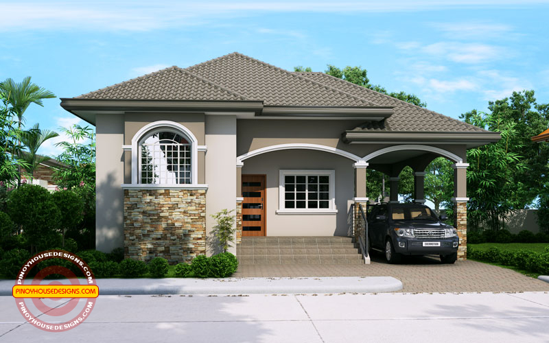 PHD    Elevated One Storey House Design   Pinoy House    PHD    Elevated One Storey House Design