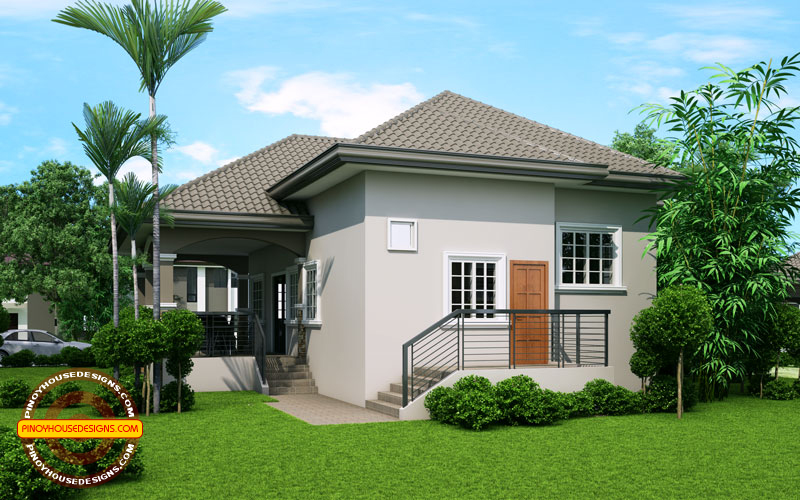 Elevated one storey house design phd 2015022 pinoy house for Elevated bungalow house plans