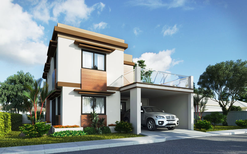 Two Story House Design Liberato   Pinoy House Designs   Pinoy House Designs