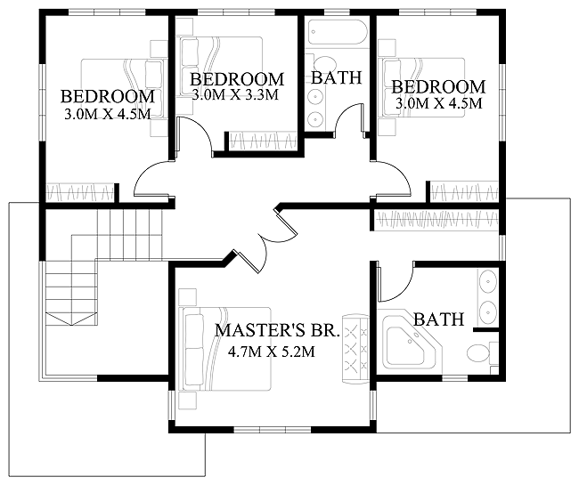 PHD-2015011-second-floor-plan