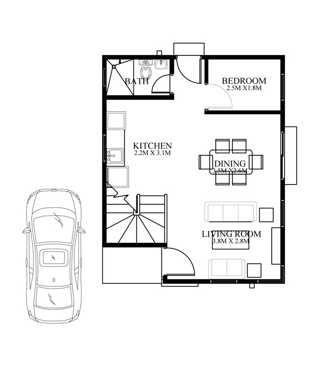 Modern House Design Phd 2015015: Contemporary House Design PHD-2015014