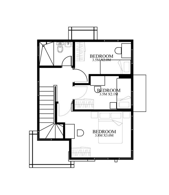 pinoy-house-design-2015014-second-floor-plan