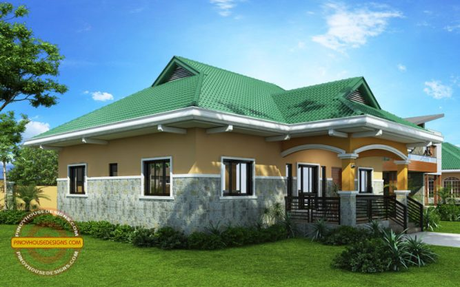 2 Storey Cool House Plan CAM1A