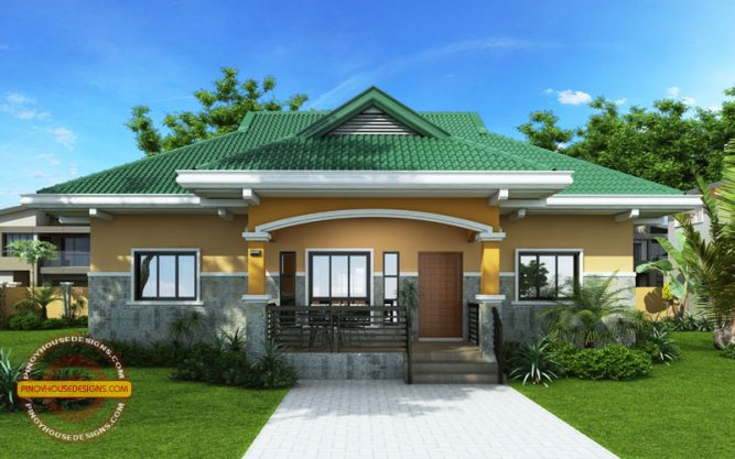 2 Storey Cool House Plan CAM2A