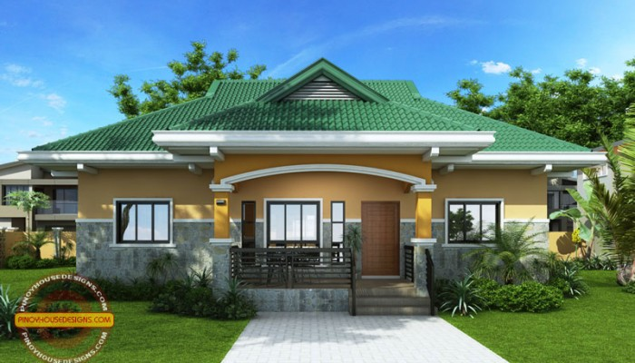 2 Storey Cool House Plan CAM2A 700x400 - Download Modern 3 Bedroom House Plans In Nigeria Images