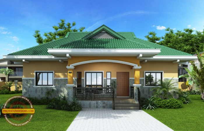 Nestor 3 Bedroom Small Contemporary House Design Pinoy