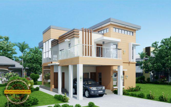 Contemporary House Design VIEW1