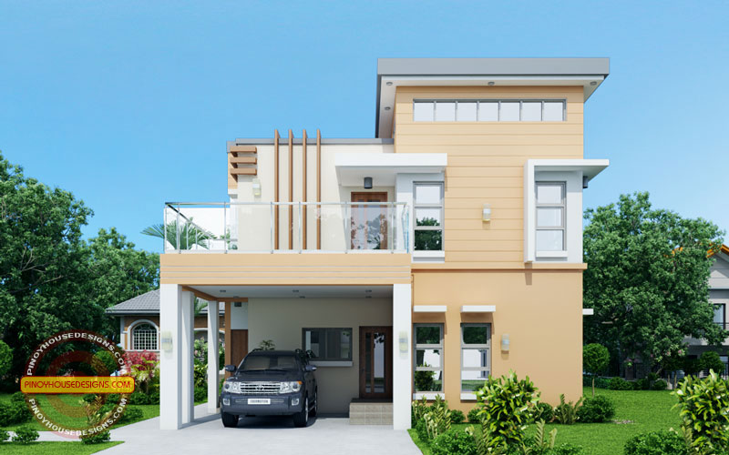 Clemente Contemporary House Design Pinoy House Designs