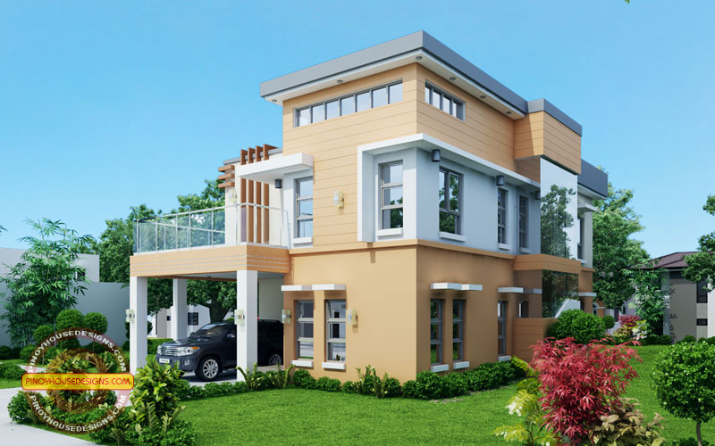 Contemporary House Design VIEW3