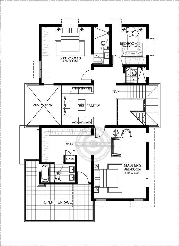 Contemporary-House-Design-second-floor