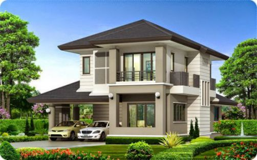 Picture of a Two Storey House