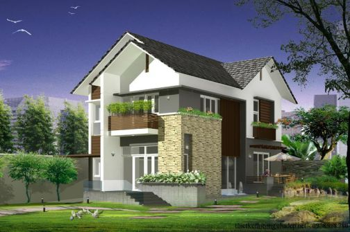Picture of Two Storey House