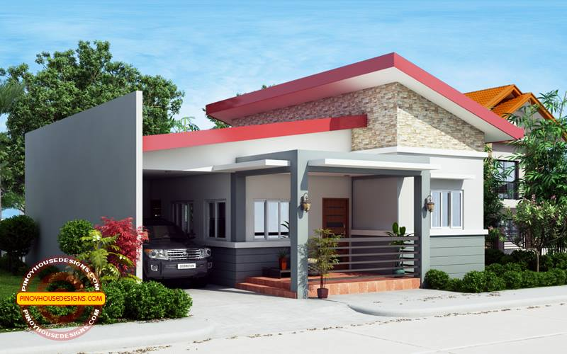 Great Dominic   One Story House Plan   Pinoy House Designs   Pinoy House Designs