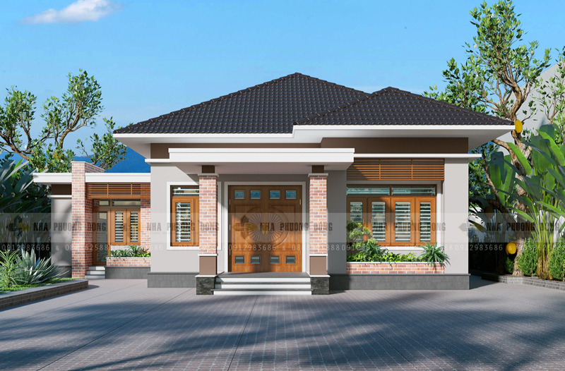 Small contemporary house design pinoy house designs for Modern home front view design