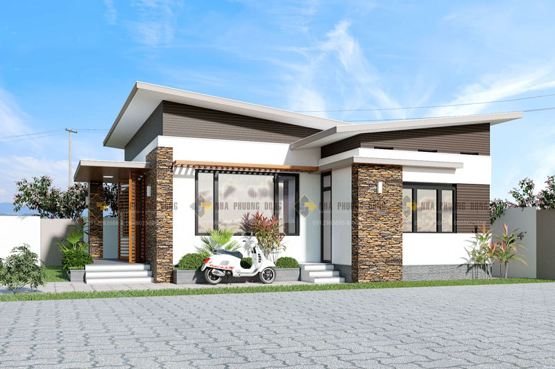 Small Modern House View1 - Download Modern 3 Bedroom House Floor Plans Images