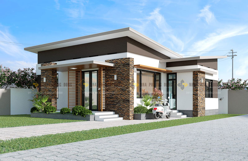 Small Modern House View2