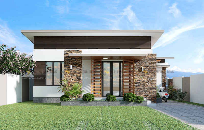 Small Modern House View3