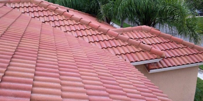 Picture of roof maintenance