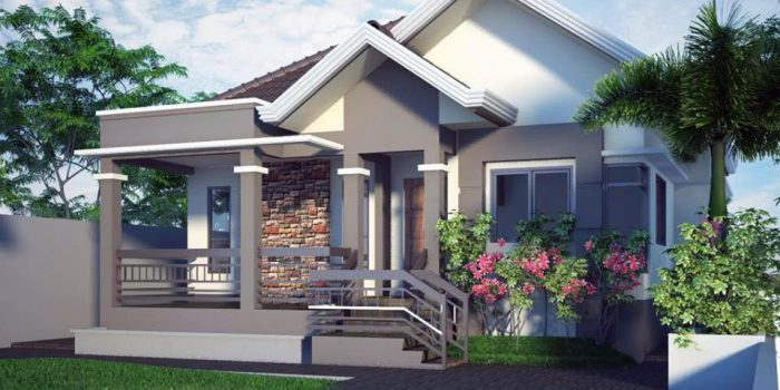 Picture of a bungalow house
