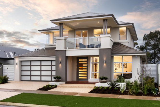 Picture of Contemporary Two Storey Residential House