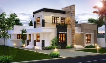 Picture of Two Story Small Home with Three Bedrooms