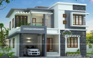 Picture of Contemporary Two Story Residence