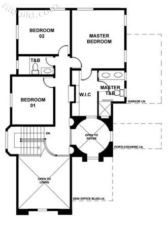 Picture of Modern Two Storey House Plan