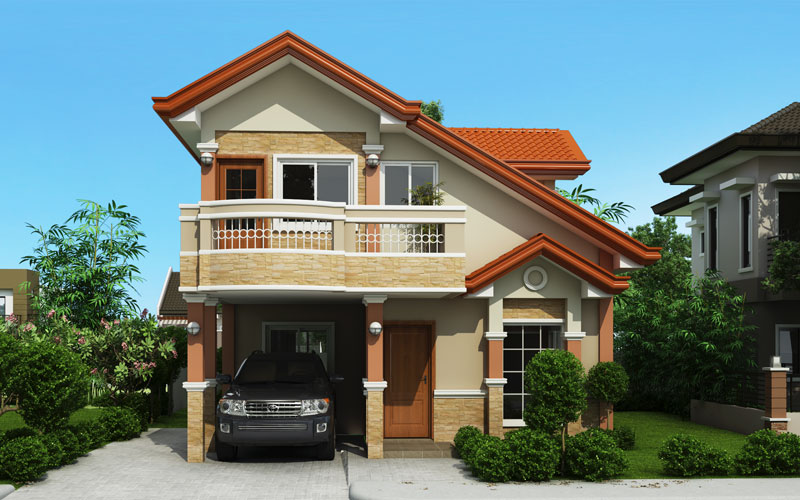 Picture of House with Balcony
