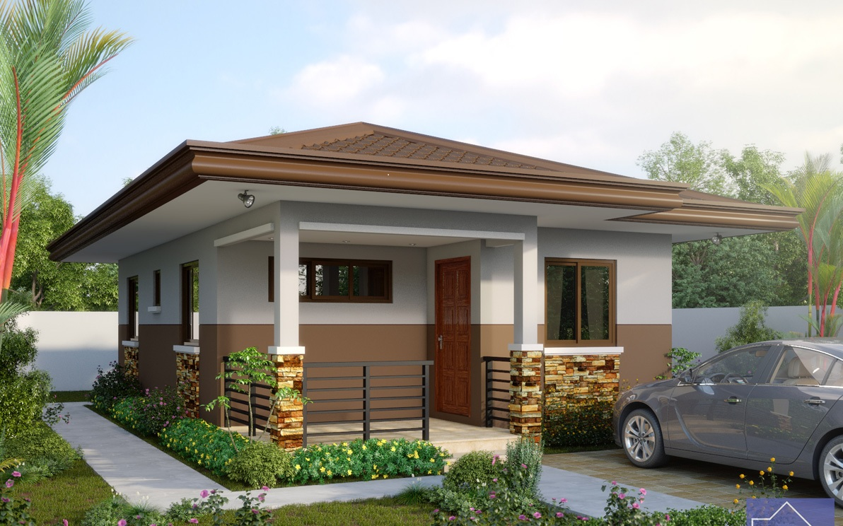 SHD61 - Download Simple House Design With Small Budget  Background