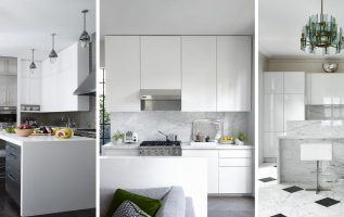 Picture of Stylish White Kitchen Expressions and Impressions