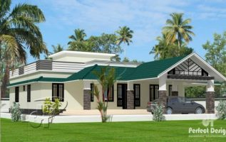 Picture of Three Bedroom Modern Bungalow House