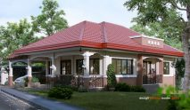 Picture of Modern Bungalow House of Traditional Tgouch