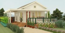 Picture of Beautiful One Bedroom Cottage House Plan