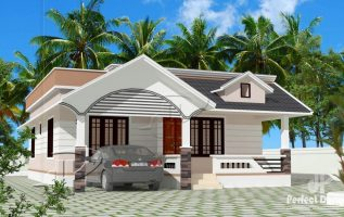 Picture of Two Bedroom Modern Bungalow House