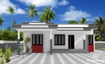 Picture of Single Story Two Bedroom Residential House