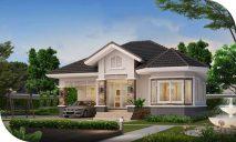 Picture of Attractive Single Floor 2 Bedroom House Design